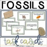 Fossils Worksheet Task Cards