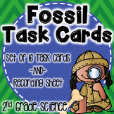 Fossil Task Cards (No Prep!)