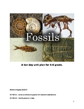 Fossil Unit Plan