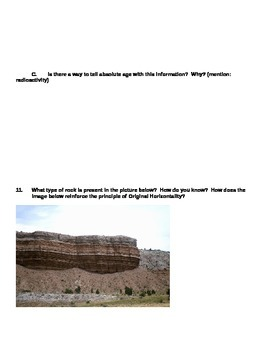 Fossil and Rock Layers Assessment