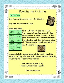 Science Literacy: Fossilization