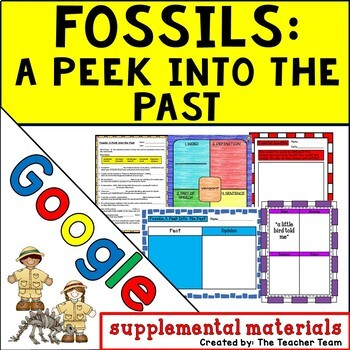 Fossils: A Peek into the Past Journeys 5th Grade Unit 6 Lesson 28 Google Drive