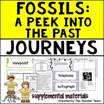 Fossils A Peek into the Past Journeys Fifth Grade Suppleme