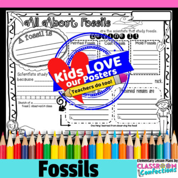 Fossils Activity Poster