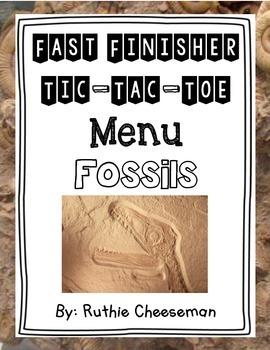 Fossils Choice Menu