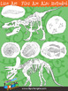 Fossils Clip Art Collection