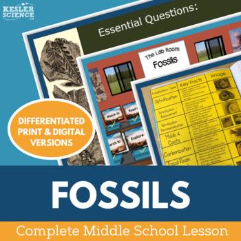 Fossils Complete 5E Lesson Plan