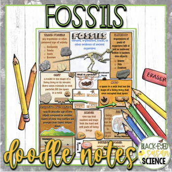 Fossils Squiggle Sheets & Understanding Checkpoint (quiz)