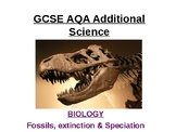 Fossils, Extinction & Speciation.