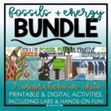 Fossils, Fossil Fuels, & Alternative Energy Bundle