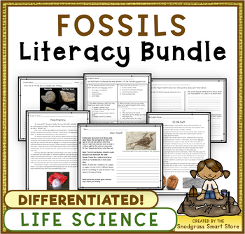 Fossils: Science & Literacy Bundle (3-LS4-1)