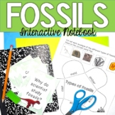 Fossils Interactive Notebook {Task Cards, Reading Passage, & Quiz Included}