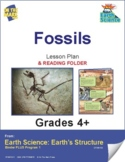 Fossils Lesson & Reading Folder