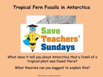 Fossils Lesson plan, PowerPoint & Activities