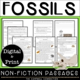 Fossils Nonfiction Reading Comprehension Passages and Questions