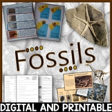 Fossils Pack - Printables / Google Classroom / Distance Learning