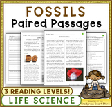 Fossils: Paired Texts/Paired Passages (NGSS 3-LS4-1)