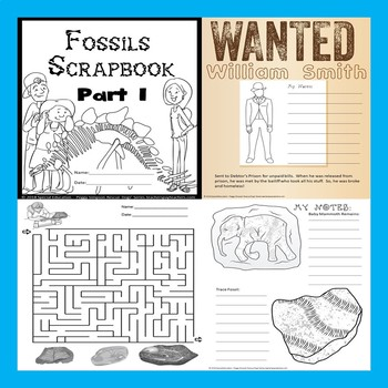 Fossils Part 1 - NO CARBON DATING!  SPED/Autism/ODD/SLD/LD/ESL