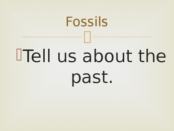 Fossils Powerpoint