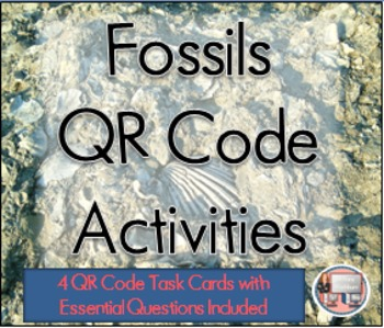 Fossils QR Code Activities