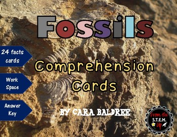 Fossils Reading Comprehension Cards