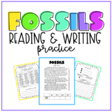 Fossils Reading & Writing Practice
