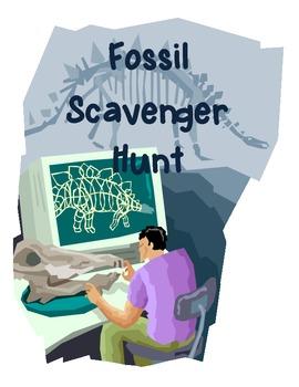 Fossils Scavenger Hunt