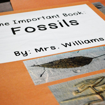 Fossils: Science Big Book