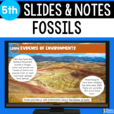 Fossils Slides & Notes 5th Grade | Bonus Distance Learning