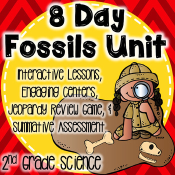Fossils Unit Plan-2nd Grade Interactive