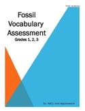 Fossils Vocabulary Assessment