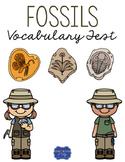 Fossils Vocabulary Test