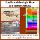 Fossils and Geologic Time - Lab Station Activity