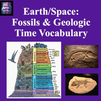 Fossils and Geologic Time Vocabulary