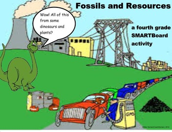 Fossils and Resources - A Fourth Grade SMARTBoard Introduction