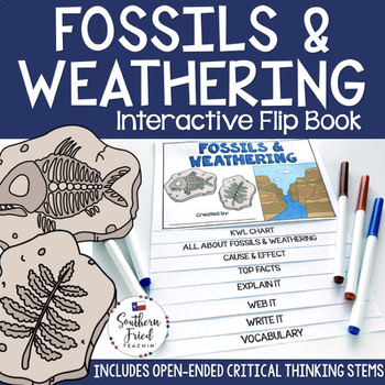 Fossils and Weathering Interactive Flip Book