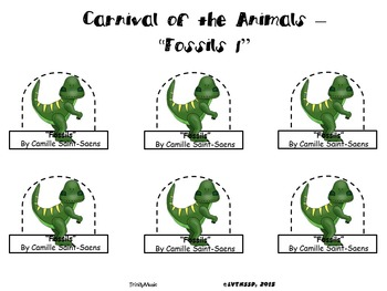 Fossils from Carnival of the Animals