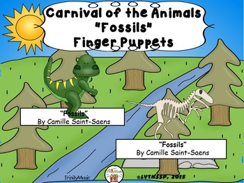 Fossils from Carnival of the Animals (Finger Puppets)
