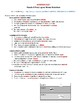 Fossils in Rock Layers Guided Films Worksheet