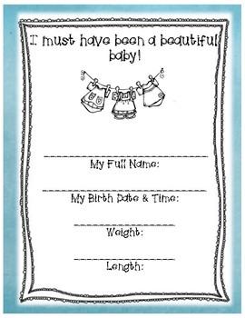 Foster Adoption Lifebook