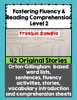 Fostering Fluency Level Two Sample Freebie