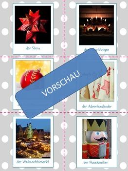 Foto-Karten Deutsch: Weihnachten! (german photo cards, christmas)
