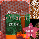 Foto-Karten Deutsch: Weihnachten! (german photo cards, christmas)