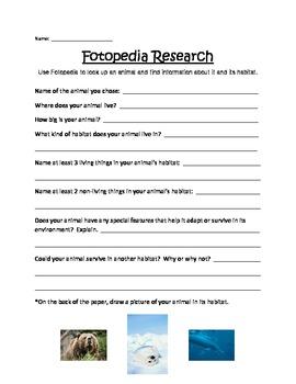 Fotopedia Animal Research