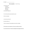 Carrot Crazy Comprehension Questions