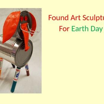 Found Art Sculpture