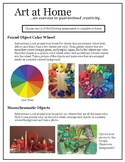 Found Object Color Wheel Activity