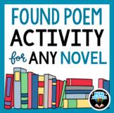 Found Poem Activity for ANY novel