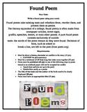 Found Poem - Alternative Book Report