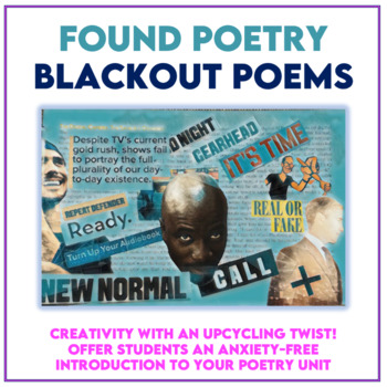 Found Poetry: Getting Started FREEBIE